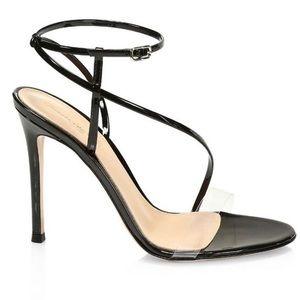 Gianvito Rossi PVC Patent Leather Black size 38